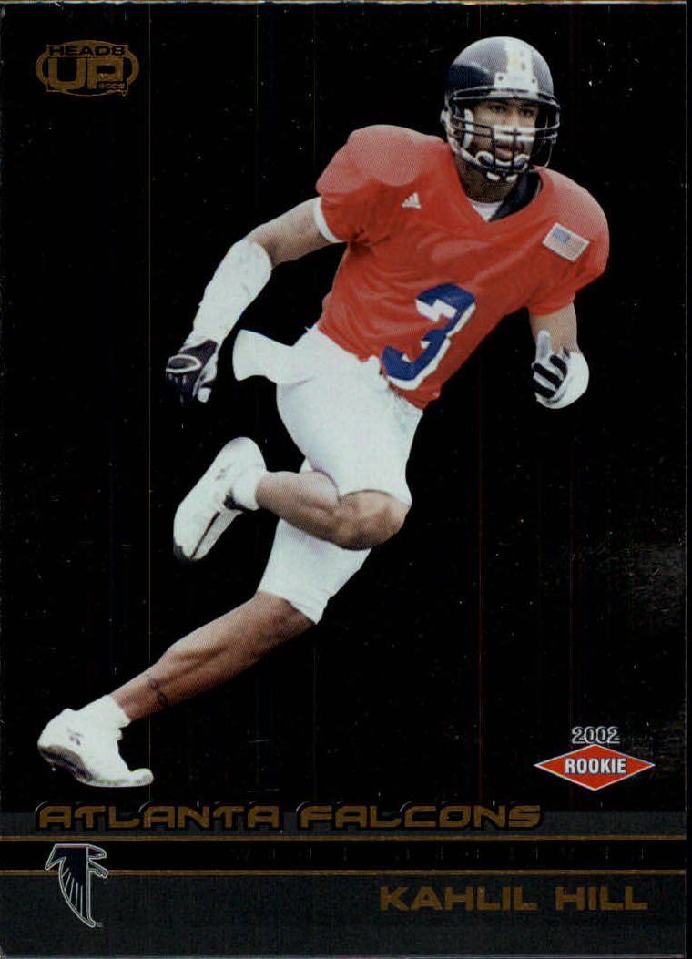2002 Pacific Heads Up #129 Kahlil Hill RC