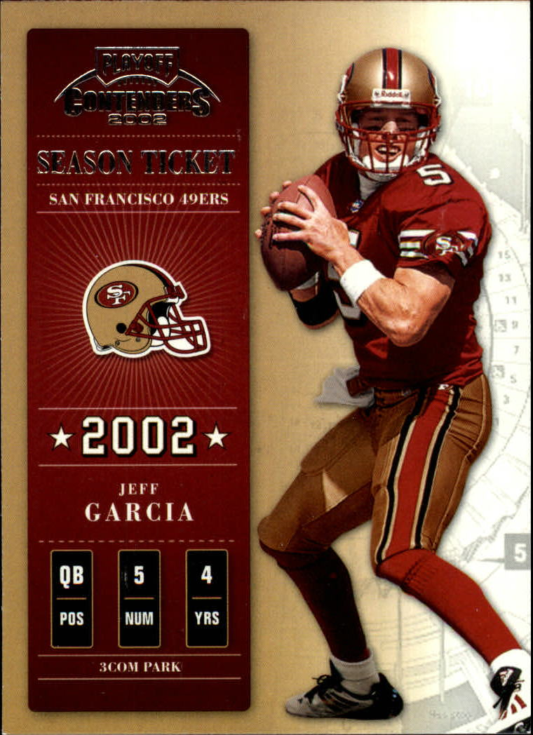 2002 Playoff Contenders #95 Jeff Garcia