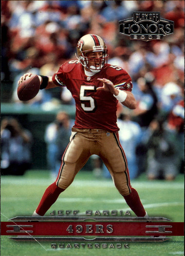2002 Playoff Honors #80 Jeff Garcia