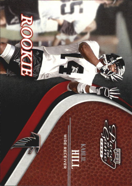 2002 Playoff Piece of the Game #87 Kahlil Hill RC