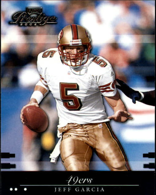 2002 Playoff Prestige #124 Jeff Garcia