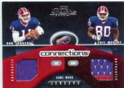 2002 Playoff Prestige Connections Jerseys #C12 Rob Johnson/Eric Moulds