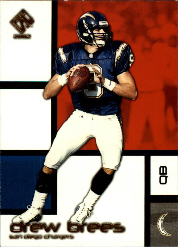 2002 Private Stock #84 Drew Brees
