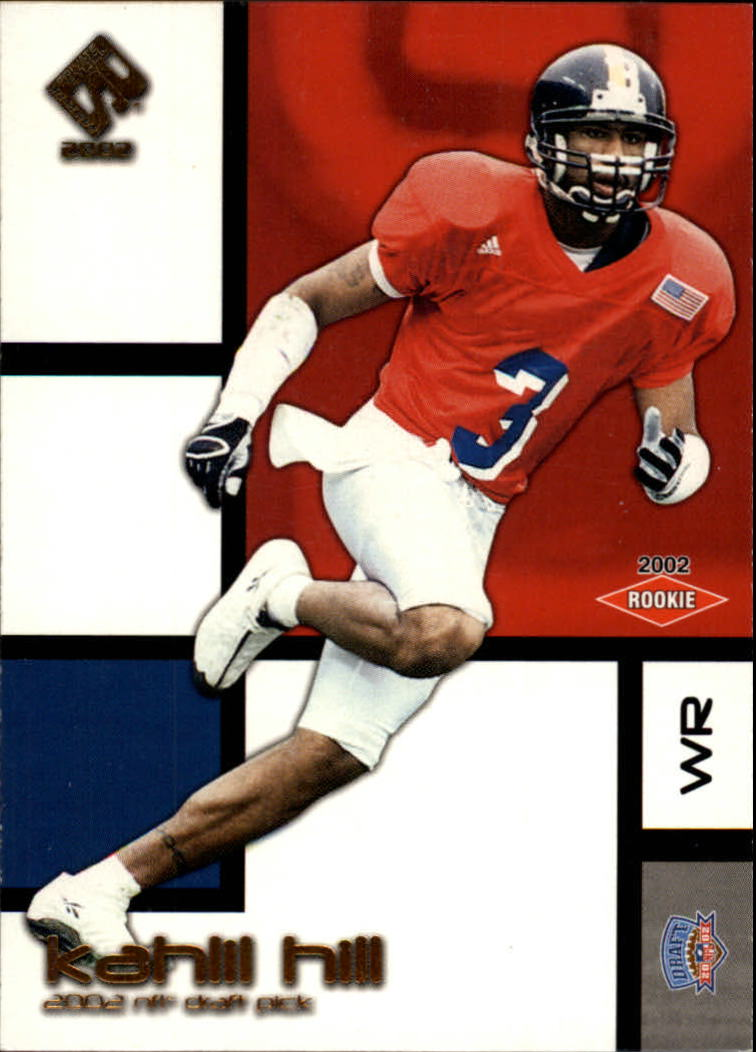 2002 Private Stock Retail #123 Kahlil Hill RC