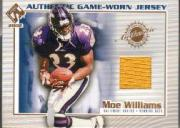 2002 Private Stock Game Worn Jerseys #17 Moe Williams