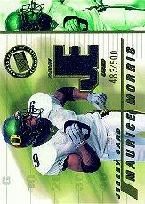 2002 Press Pass JE Game Used Jerseys #JEMM Maurice Morris