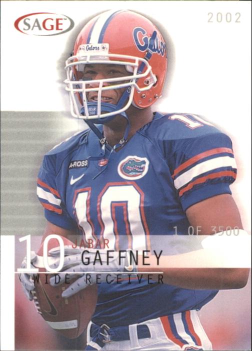 2002 SAGE #15 Jabar Gaffney