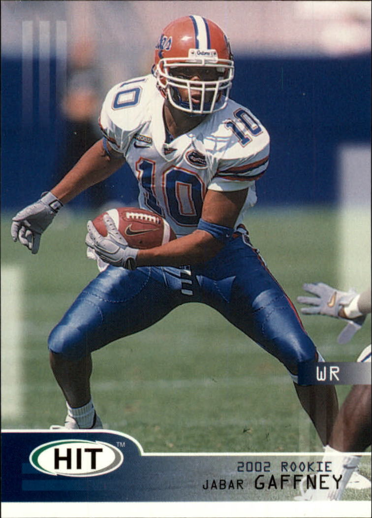 2002 SAGE HIT #10 Jabar Gaffney