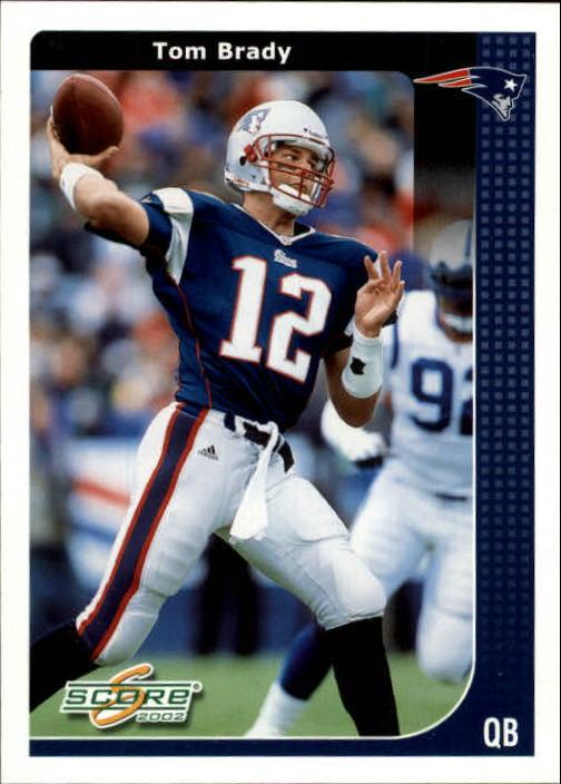 2002 Score #137 Tom Brady