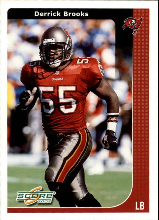 2002 Score #228 Derrick Brooks