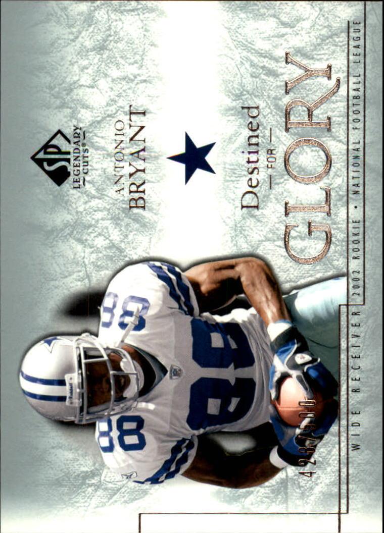 2002 SP Legendary Cuts #122 Antonio Bryant RC