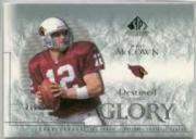 2002 SP Legendary Cuts #136 Josh McCown RC
