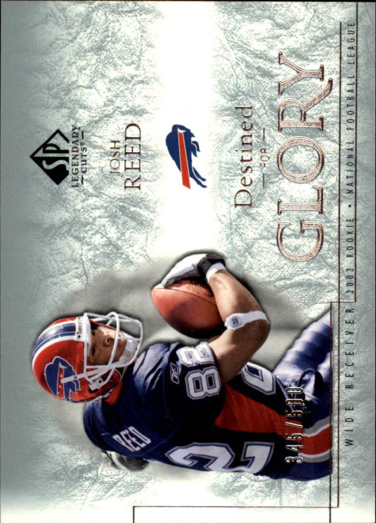 2002 SP Legendary Cuts #137 Josh Reed RC