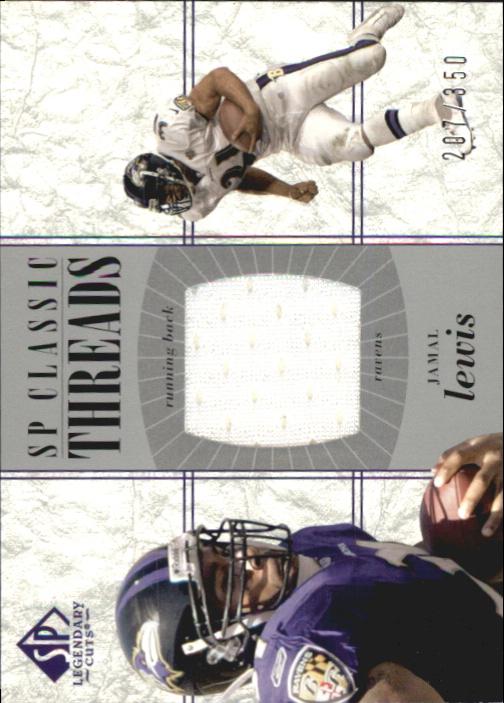2002 SP Legendary Cuts SP Classic Threads #CCJL Jamal Lewis