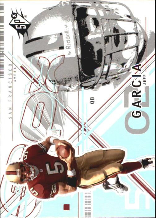 2002 SPx #84 Jeff Garcia