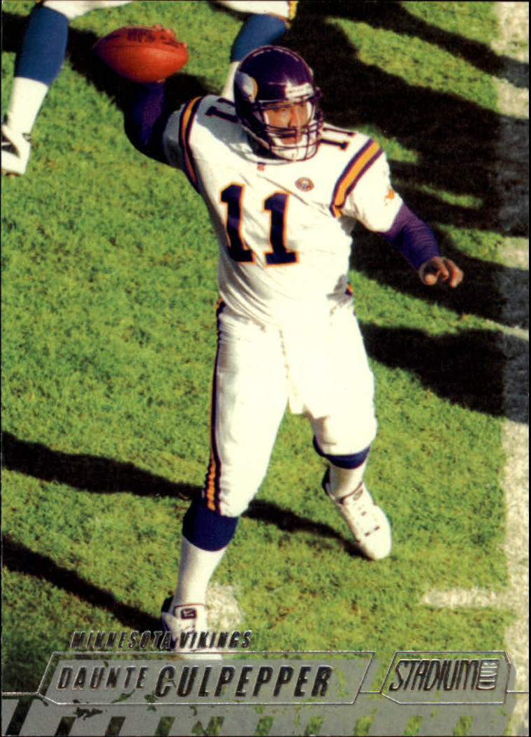 2002 Stadium Club #43 Daunte Culpepper