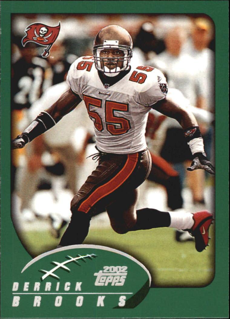 2002 Topps #22 Derrick Brooks
