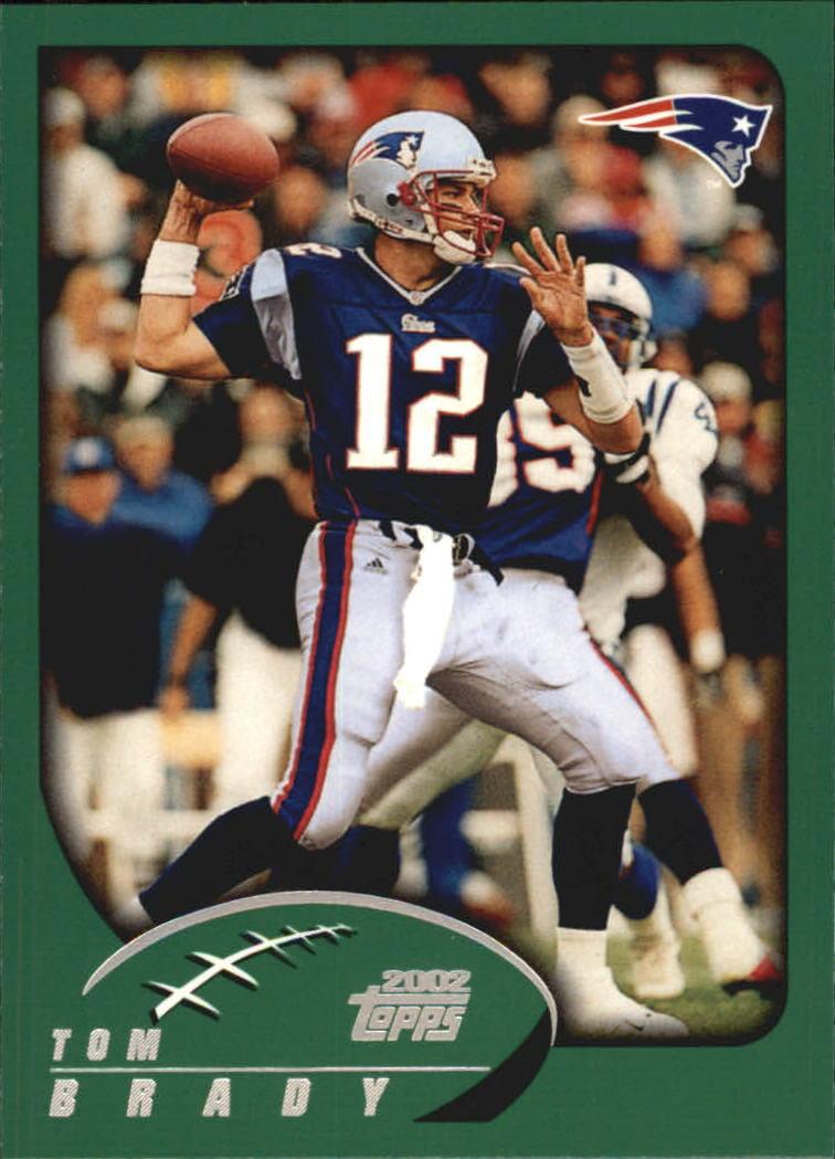 2002 Topps #248 Tom Brady