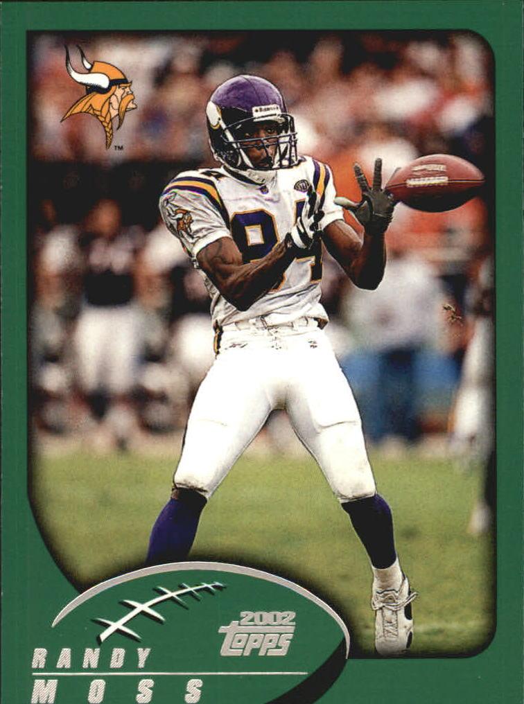 2002 Topps #276 Randy Moss