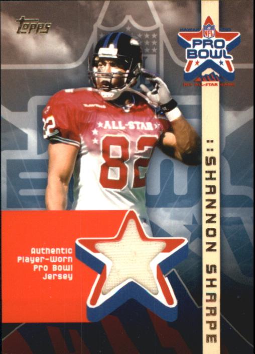 2002 Topps Pro Bowl Jerseys  APSS Shannon Sharpe b7be65109