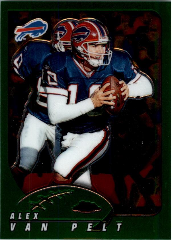 2002 Topps Chrome Football Card #20 Michael Strahan