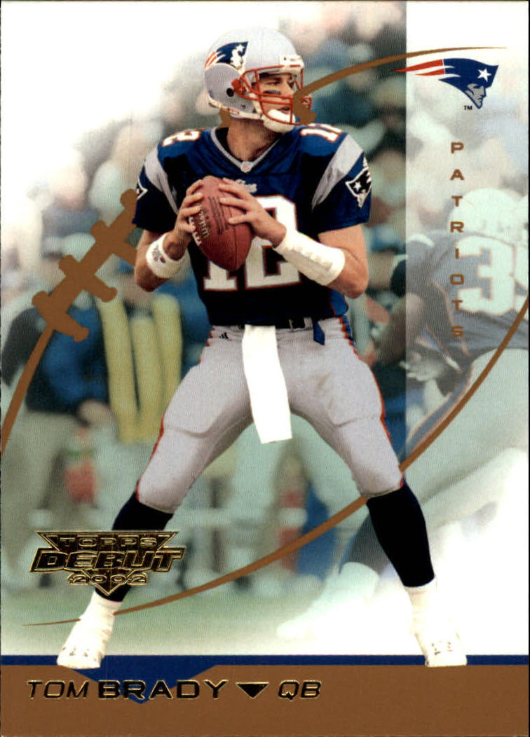 2002 Topps Debut #108 Tom Brady