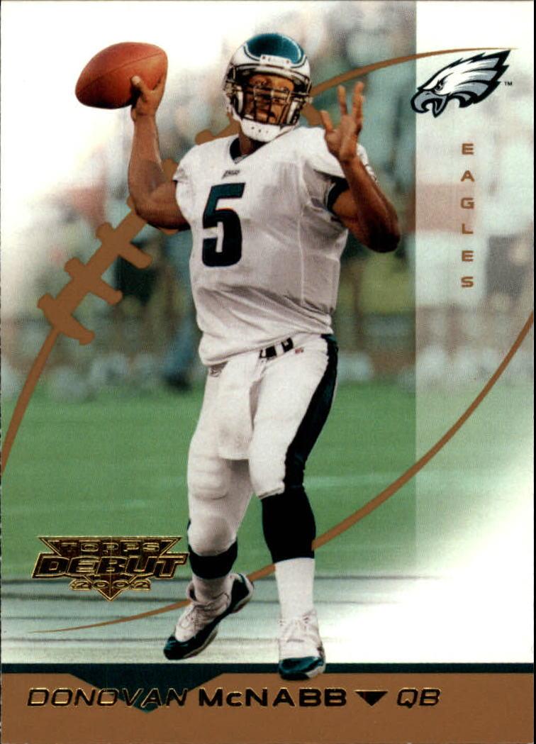 2002 Topps Debut #121 Donovan McNabb