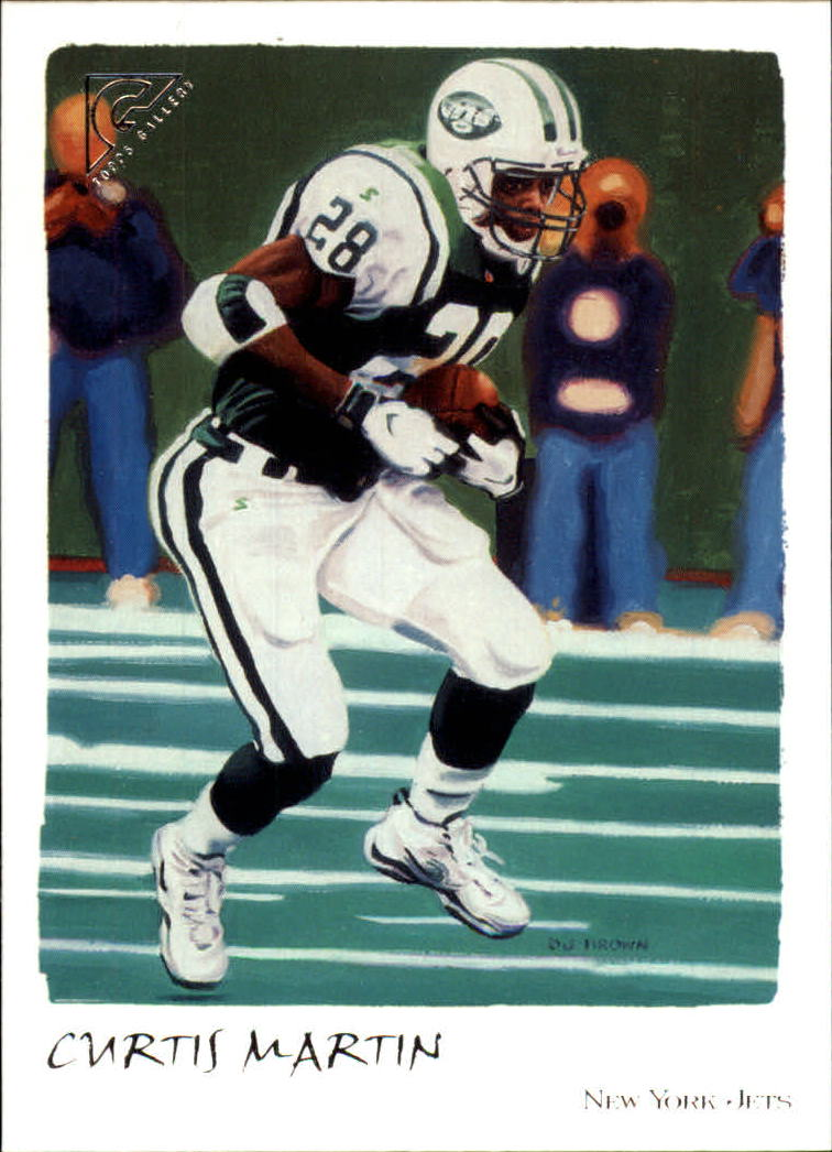 2002 Topps Gallery #5 Curtis Martin