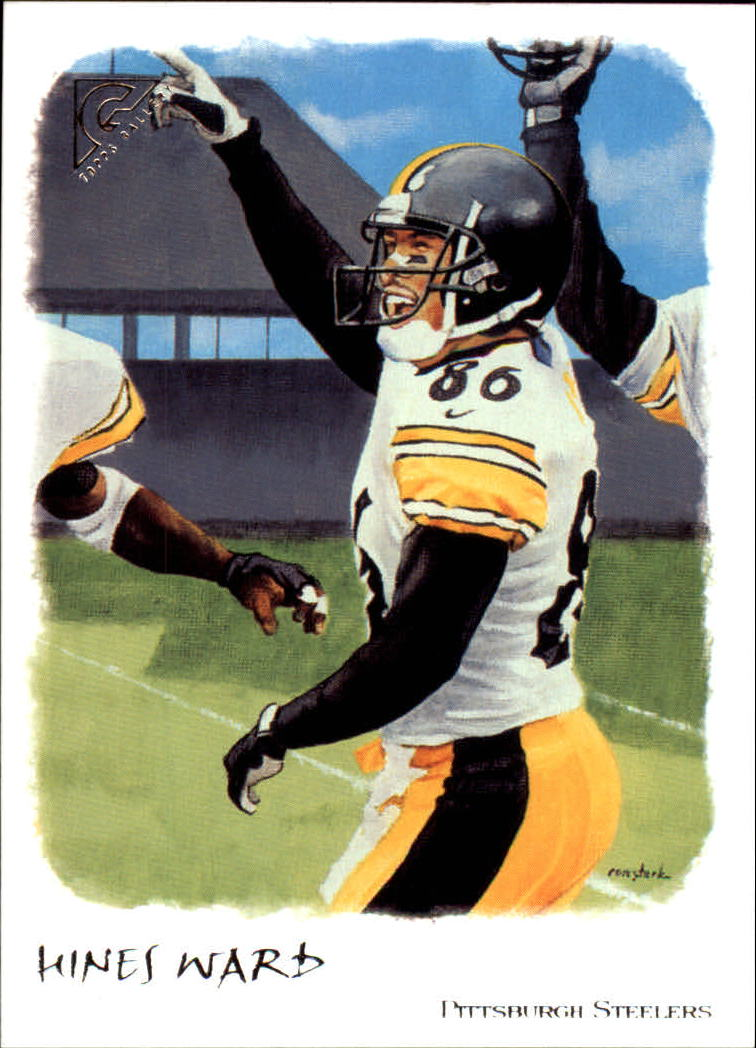 2002 Topps Gallery #10 Hines Ward