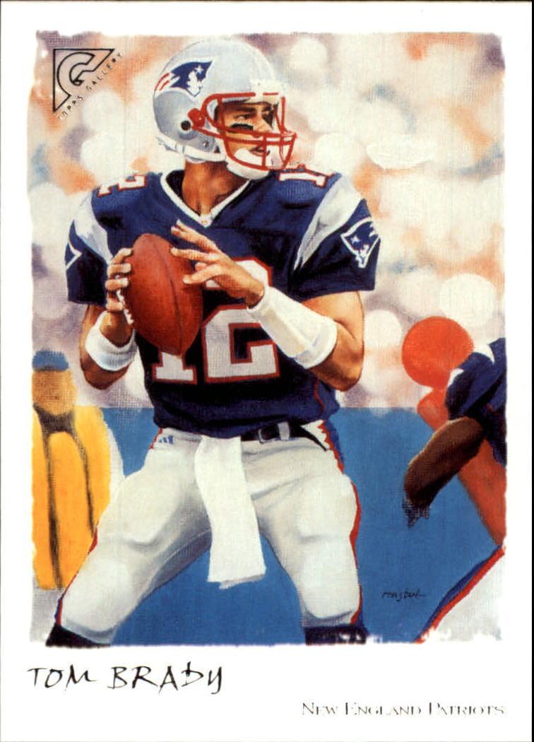 2002 Topps Gallery #50 Tom Brady