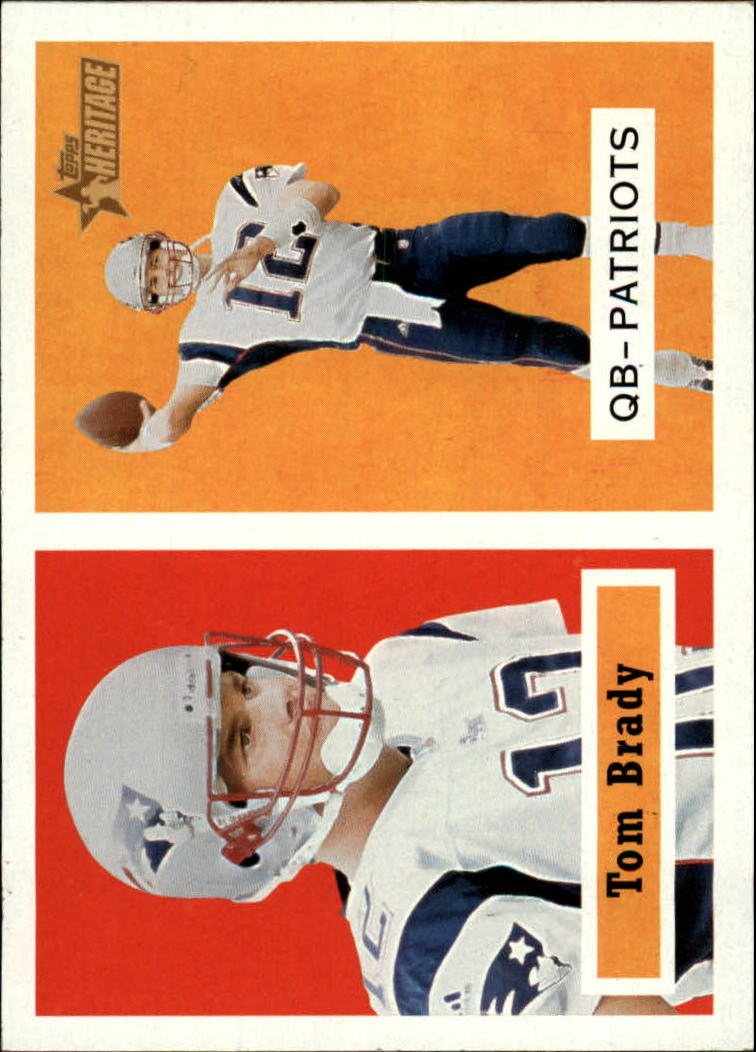 2002 Topps Heritage #50 Tom Brady