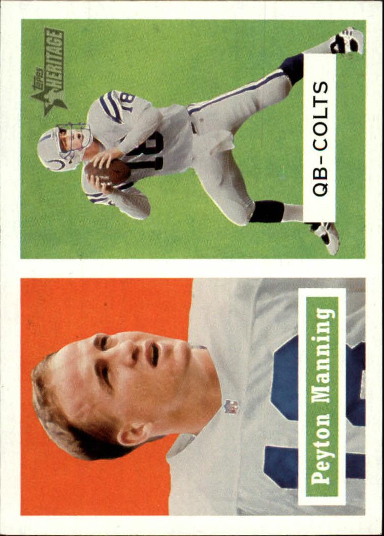 2002 Topps Heritage #86 Peyton Manning