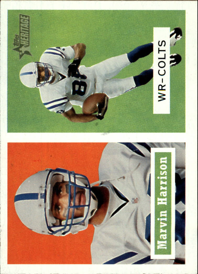 2002 Topps Heritage #152 Marvin Harrison