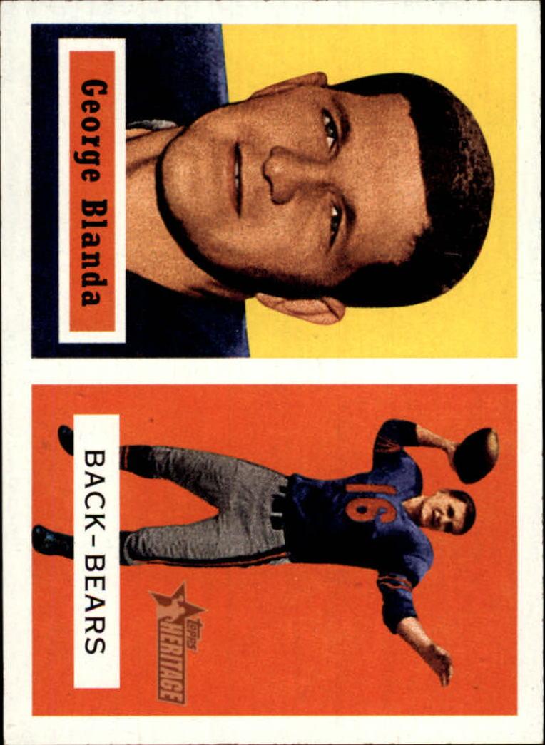 2002 Topps Heritage 1957 Reprints #RGB George Blanda