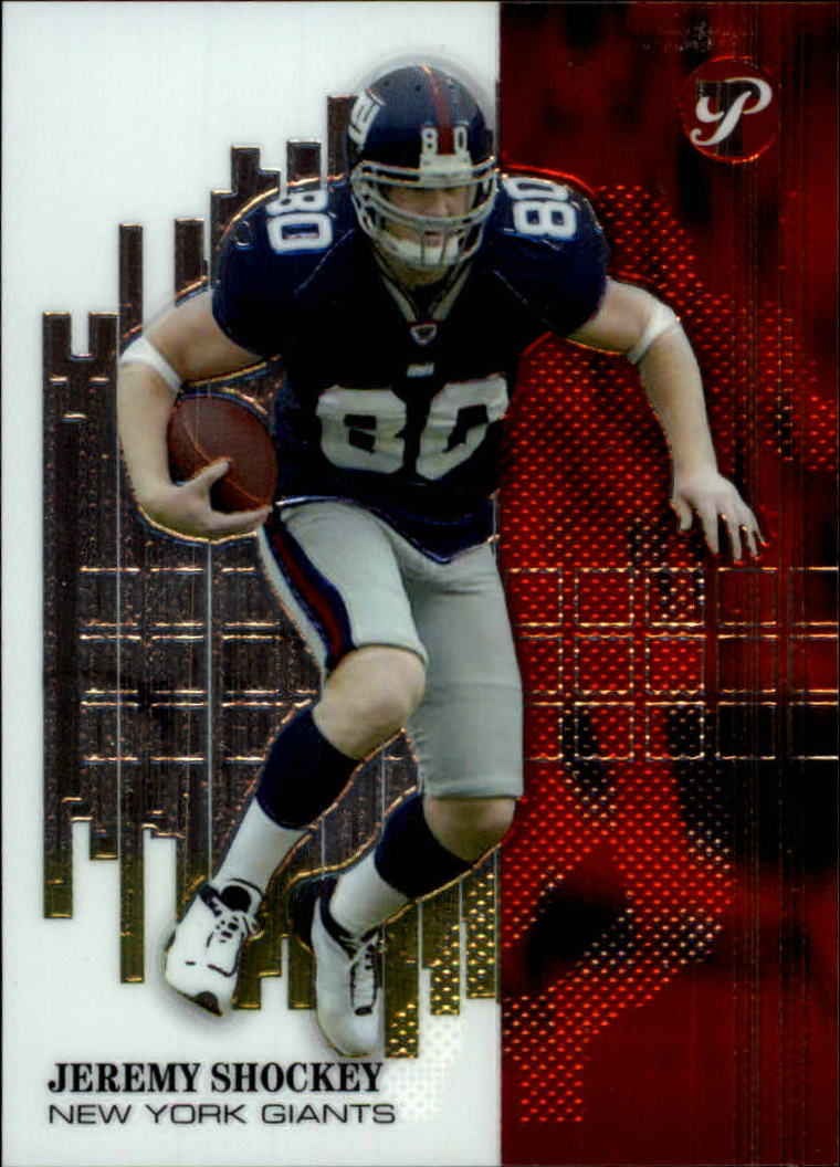 2002 Topps Pristine #124 Jeremy Shockey U
