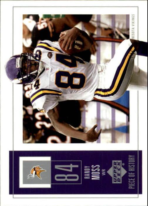 2002 UD Piece of History #55 Randy Moss