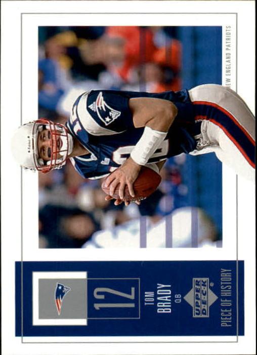 2002 UD Piece of History #58 Tom Brady