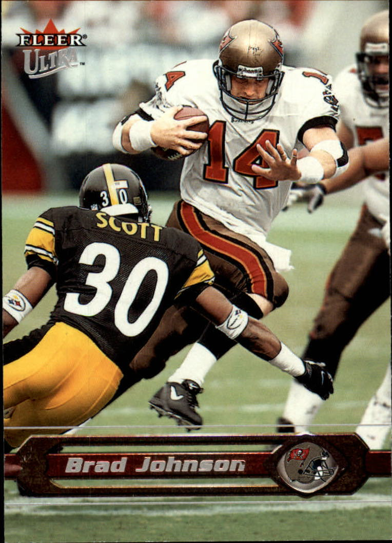 2002 Ultra #13 Brad Johnson