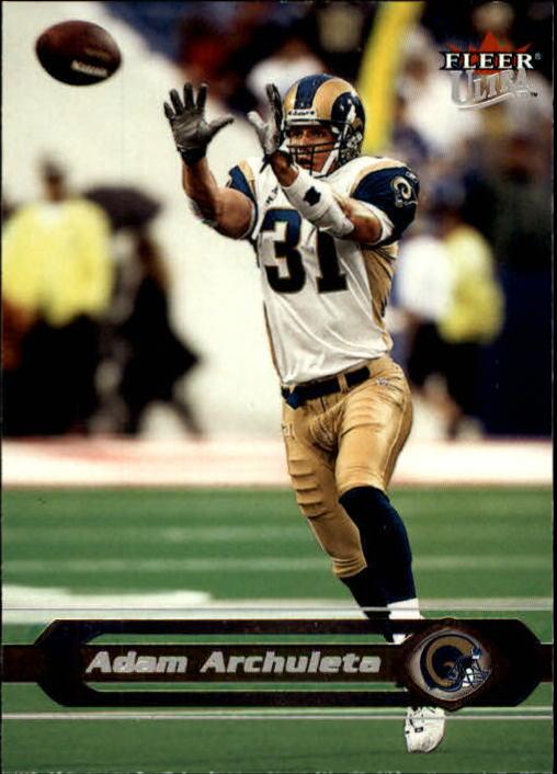 2002 Ultra #53 Adam Archuleta