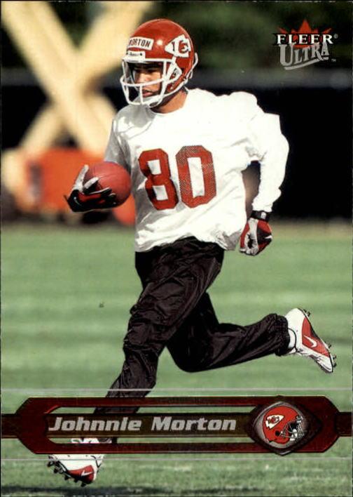 2002 Ultra #86 Johnnie Morton