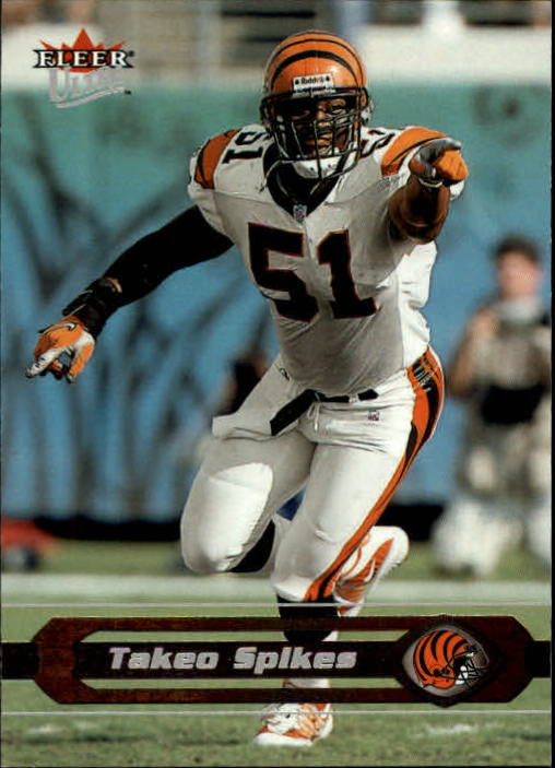 2002 Ultra #107 Takeo Spikes