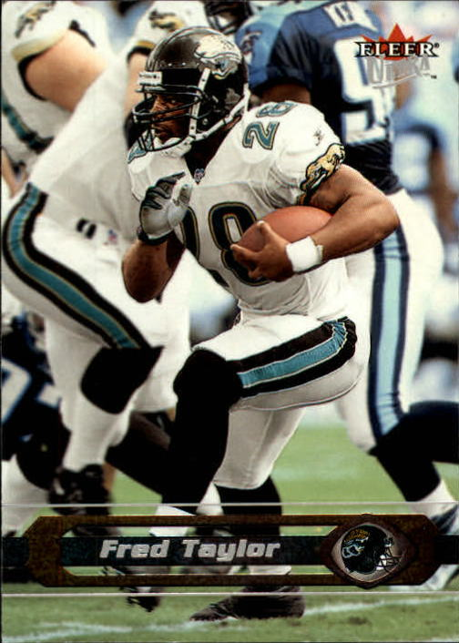2002 Ultra #117 Fred Taylor