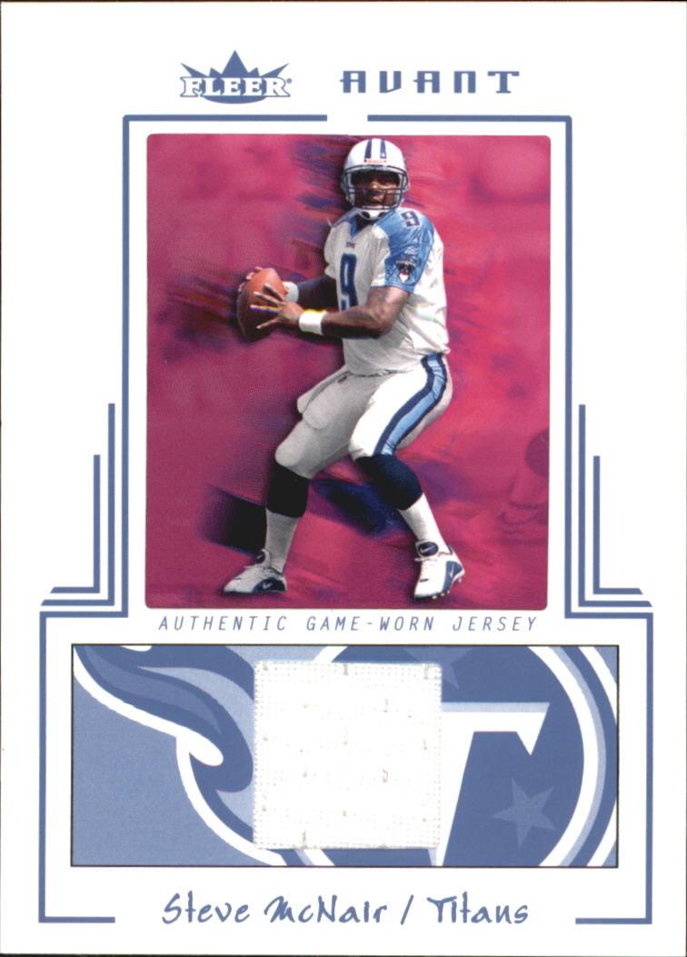 2003 Fleer Avant Materials Blue #23 Steve McNair