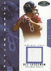 2003 Hot Prospects #94 Rex Grossman JSY RC