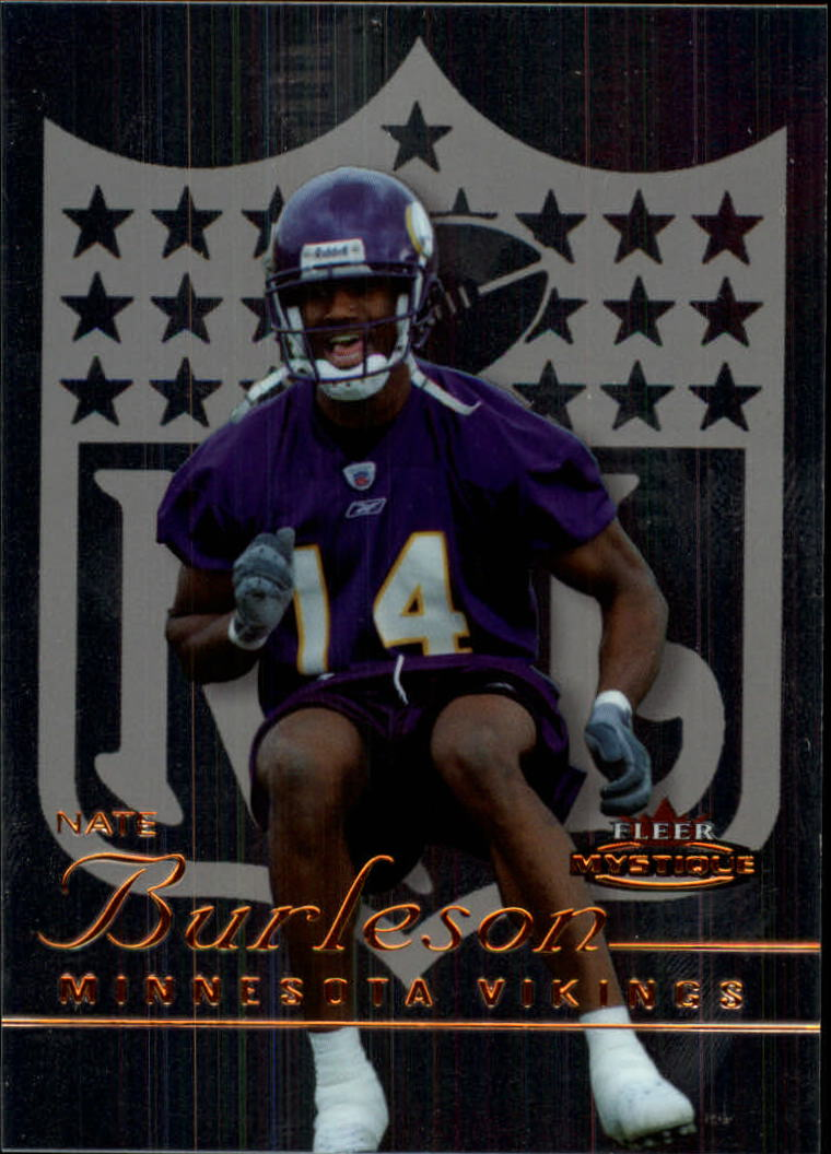2003 Fleer Mystique #125 Nate Burleson RC