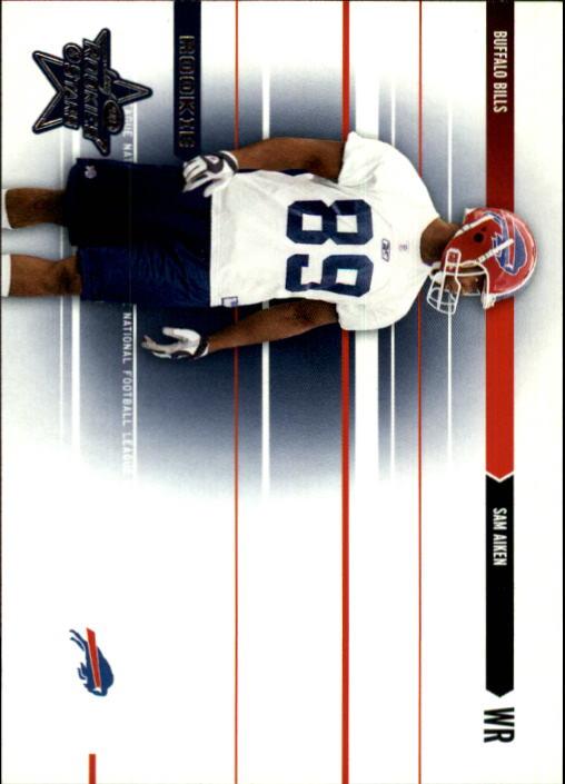 2003 Leaf Rookies and Stars #215 Sam Aiken RC