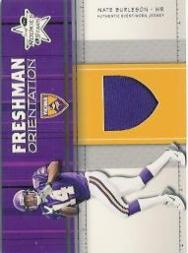 2003 Leaf Rookies and Stars Freshman Orientation Jersey #FO23 Nate Burleson