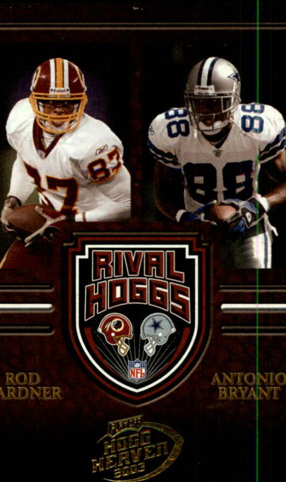 2003 Playoff Hogg Heaven Rival Hoggs #RH16 Antonio Bryant/Rod Gardner