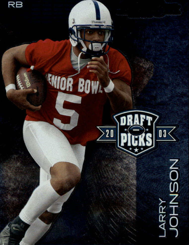 2003 Playoff Prestige Draft Picks #DP4 Larry Johnson