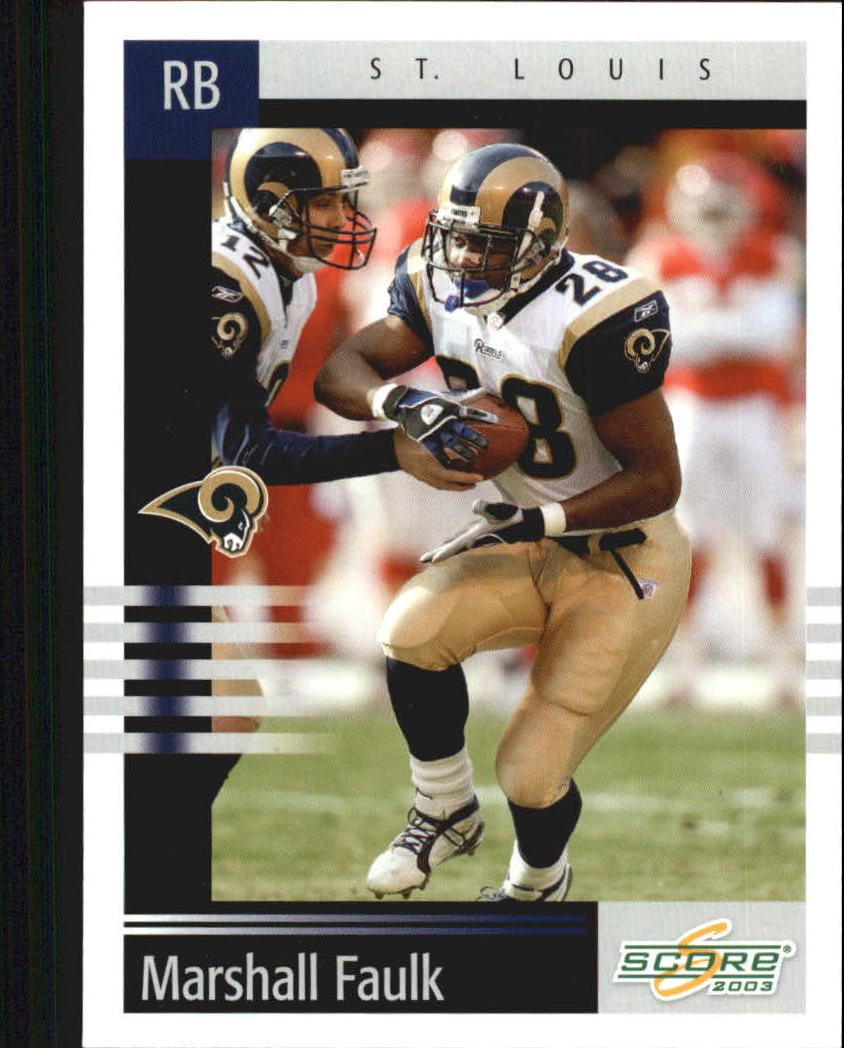2003 Score #251 Marshall Faulk